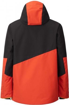 TRIFID Jacke 2022 black/pumpkin red