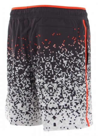 BEACH PIXEL MIND 18 Boardshort 2019 fire red