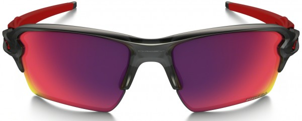 FLAK 2.0 XL Sunglasses matte grey smoke/prizm road
