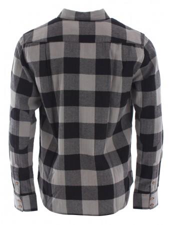 HILLSBORO Flannel Hemd 2019 black/grey