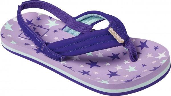 LITTLE AHI Sandale 2019 purple stars