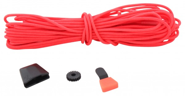 AUTOLOCK Lace Lock Kit caffeinated red