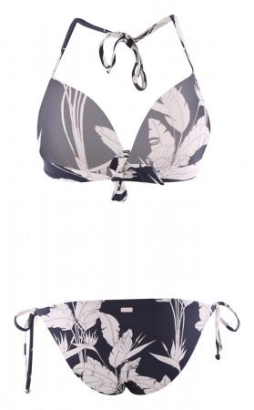 BEACH CLASSICS MOULDED TRIANGLE Bikini 2021 mood indigo flying flowers