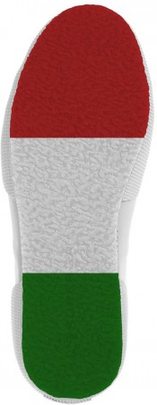 2750 BIG RUBBER PATCH Schuh 2022 white/italy flag