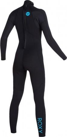 3/2 SCHOOL RNTL GIRL FLT BACK ZIP Full Suit 2021 black