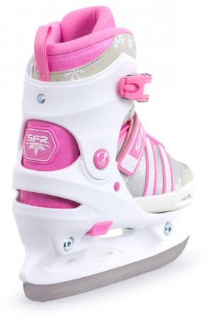 NOVA ADJUSTABLE Ice Skate 2019 white/pink
