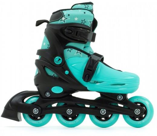 PLASMA KIDS Inline Skate 2021 black/green