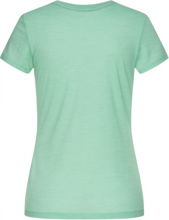 ESSENTIAL I.D. T-Shirt 2021 misty green melange/sea spray