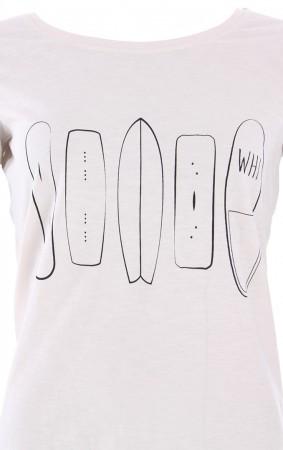 WOMEN RANGE ORGANIC T-Shirt vintage white