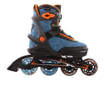 XOOM 2 Inline Skate 2021 black/blue/orange