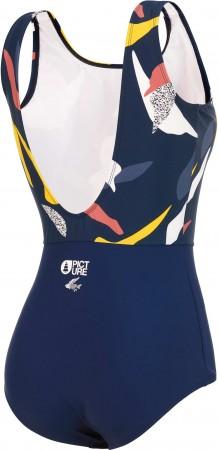 CURVING Badeanzug 2021 dark blue petals