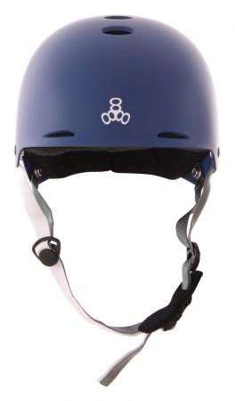 Wakeboard Helm TRIPLE8 HALO Helm 2020 black rubber Kite Wake Board Helm