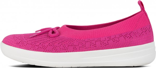 UBERKNIT BOW SLIP-ON BALLERINA Schuh 2019 psychedelic pink mix