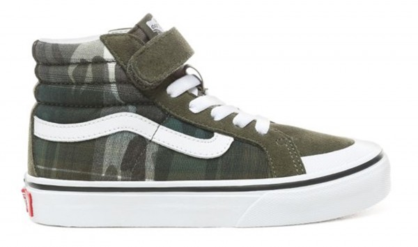 KIDS SK8-HI REISSUE 138 Shoe 2019 plaid camo/grape leaf