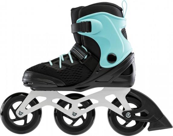 FORMULA 100 W TEST Inline Skate 2021 black/light blue