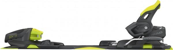 SUPER JOY SLR Ski 2019 inkl. JOY 11 GW SLR BRAKE 78 matte black/flash yellow