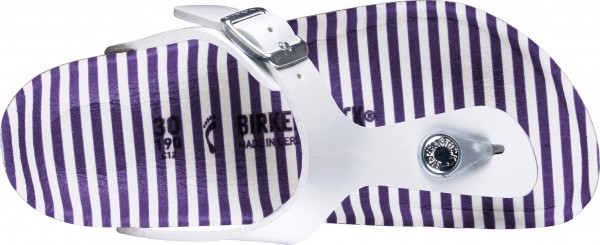 GIZEH KIDS SLIM Sandale 2020 nautical stripes white