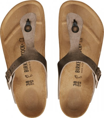 GIZEH GRACEFUL Sandale 2021 taupe