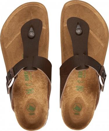 MEDINA Sandale 2020 vegan saddle matte brown