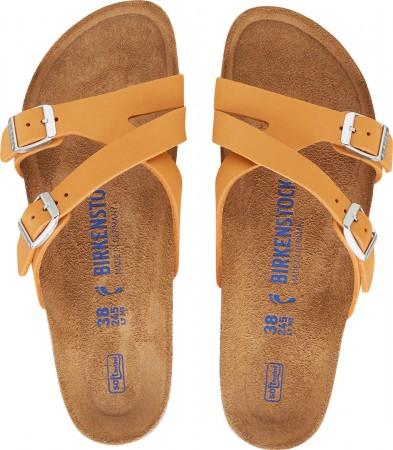 YAO SOFT SLIM Sandale 2021 nubuck soft apricot