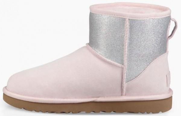 CLASSIC MINI LOGO SPARKLE Stiefel 2019 seashell pink