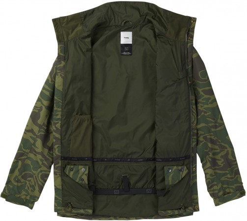 TOLLGATE Jacke 2018 rifle green/noodle camo