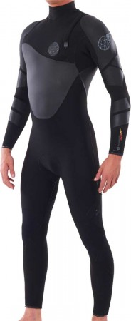 FLASHBOMB HEATSEEKER 5/3 ZIP FREE Full Suit 2021 black