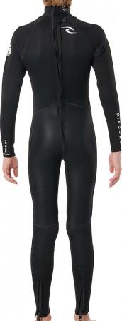 FREELITE JR 3/2 BACK ZIP Full Suit 2022 black