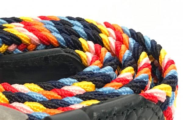 BRAIDED ELASTIC Gürtel multicolour
