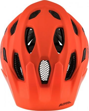 CARAPAX JR Helm 2021 pumpkin matte orange