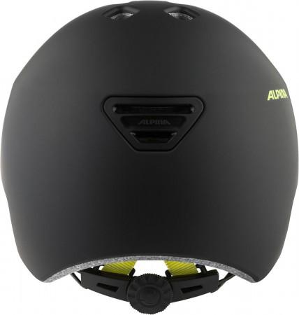 HACKNEY Helm 2022 black neon/yellow matt