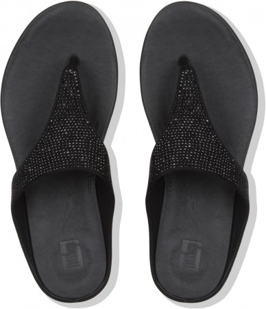 BANDA CRYSTALLED Sandale 2019 black