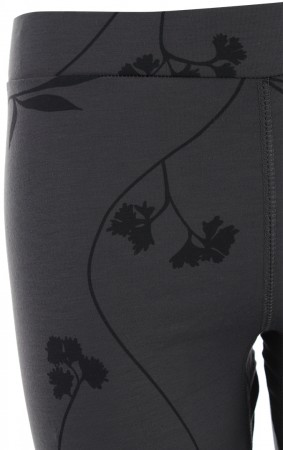 WARM UP LEGGINGS Hose 2020 black flower