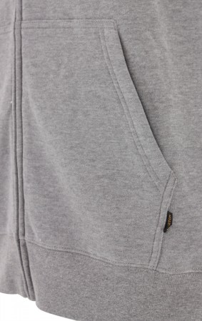 HORIZONTAL MOUNTAIN Zip Hoodie 2019 grey heather