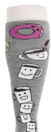 WOMEN PARTY Socken 2019 coffee and donuts