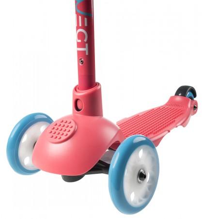 ZUM SPIELEN Scooter pink/blue/white