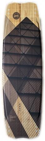 CROSSBAY Kiteboard 137 2021 inkl. STANDARD Kite Bindung black