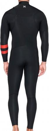 ADVANTAGE PLUS 4/3 CHEST ZIP Full Suit 2021 black