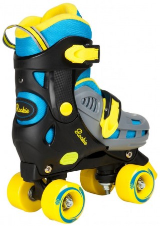 DUO JUNIOR Rollschuh 2017 blue/yellow