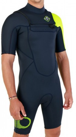 2/2 FLY FRONT ZIP Shorty 2021 navy