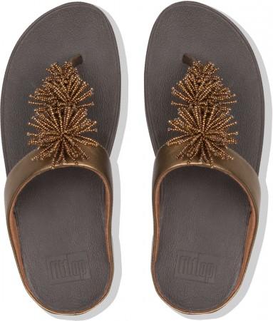 FINO BEAD POMPOM Sandale 2019 bronze