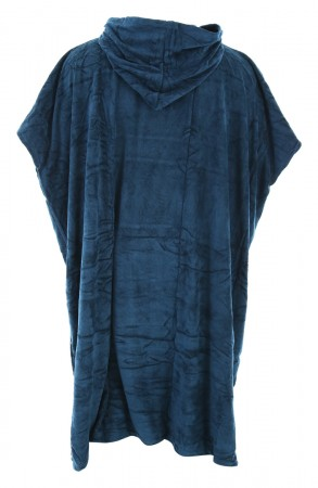 HOODED TOWELIE Poncho 2021 navy