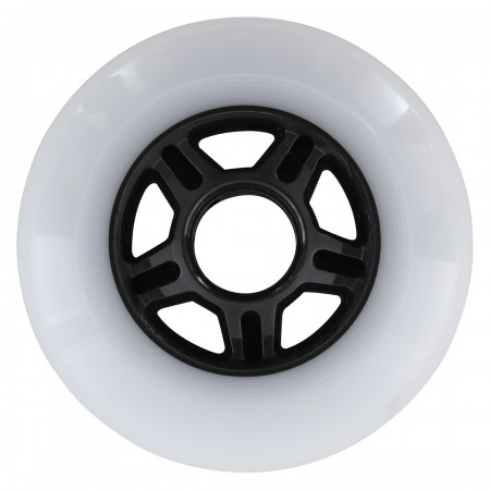 HIGH SPEED WHEELS 90mm/83a 6er Pack Rollenset 2021 white/red