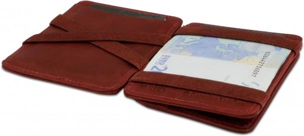 MAGIC COIN WALLET RFID burgundy