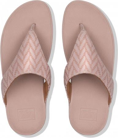 LOTTIE CHEVRON Sandale 2019 oyster pink