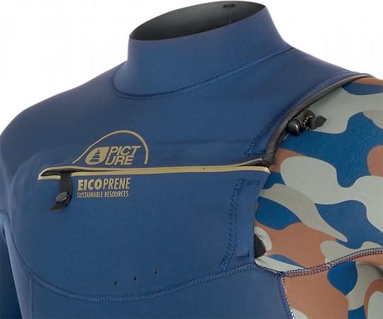EQUATION 3/2 FRONT ZIP Full Suit 2020 camo