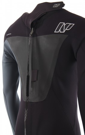 RISE 5/4/3 BACK ZIP Full Suit 2018 black/slate