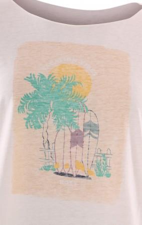 SWEET SUMMER NIGHT T-Shirt 2020 snow white