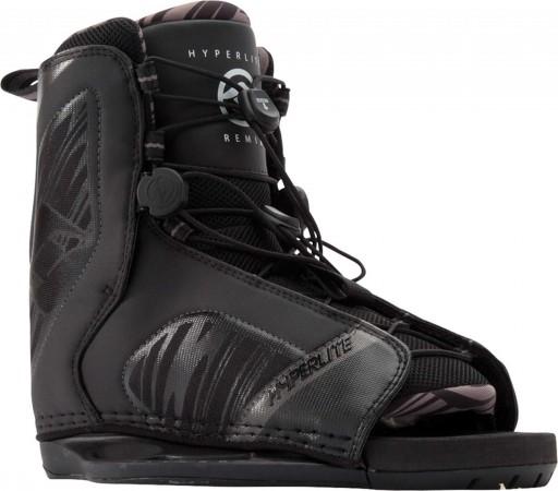 TOP NOTCH FLEX 143 2019 black/caffeinated/wood inkl. HYPERLITE REMIX Boots black
