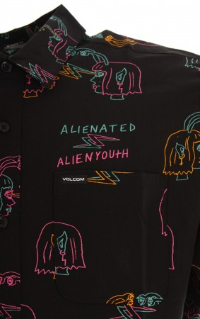 ALIENATED SS Hemd 2020 black